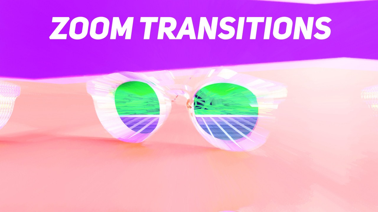 Zoom Transitions - After Effects Presets   Motionarray