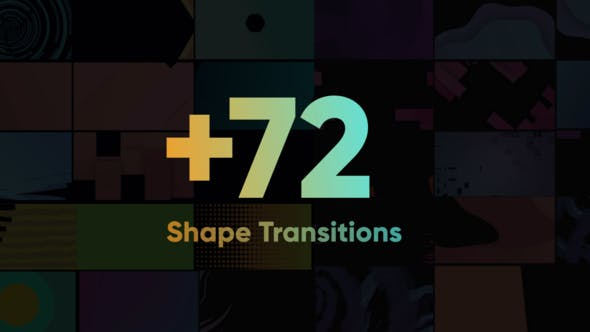 Shape Transitions Big Pack | Videohive 24393902 - Free