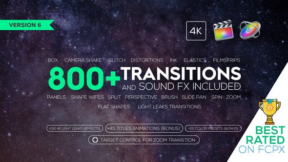 [Special] Transitions and Sound FX | Videohive 21589524 Version 6.0 New Update