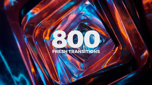 Fresh Transitions Videohive 23329699