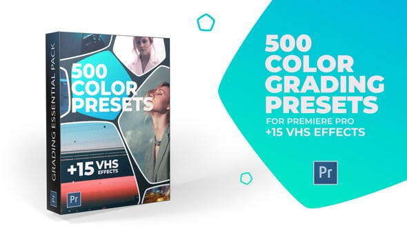 Videohive 24589977 500 Cinematic Color Presets, 15 VHS Video Effects, Old Film Looks ( Last Update 25 November 19)