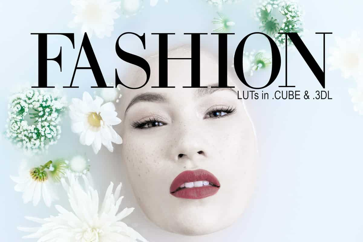 LUTs – Fashion Pack .Cube & .3DL –  Creativemarket