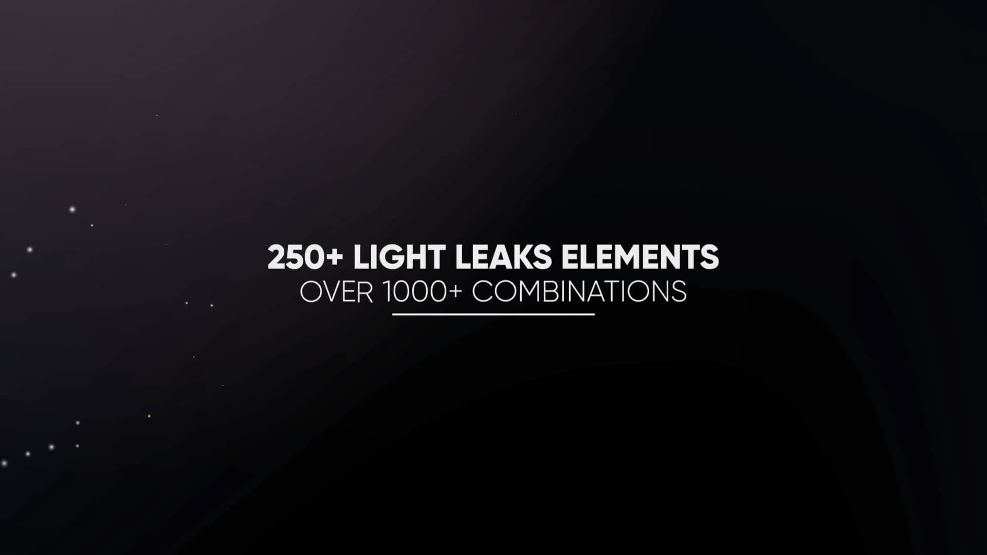 Light Leaks Constructor – 250+ Elements Motionarray 138819