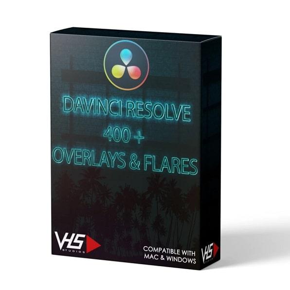 VHS® 400+ Overlays & Flares vhsstudio