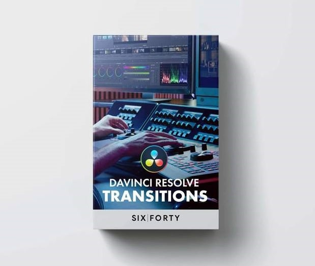 Transitions Pack for DaVinci Resolve! 640studio