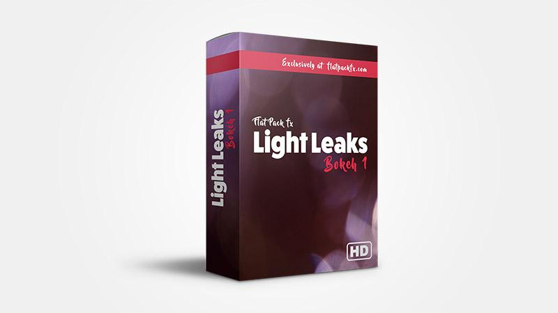 FlatPackFx – Light Leaks Bokeh Pack