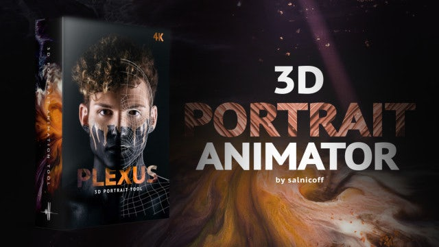 3D Portrait Animator Motionarray 328470