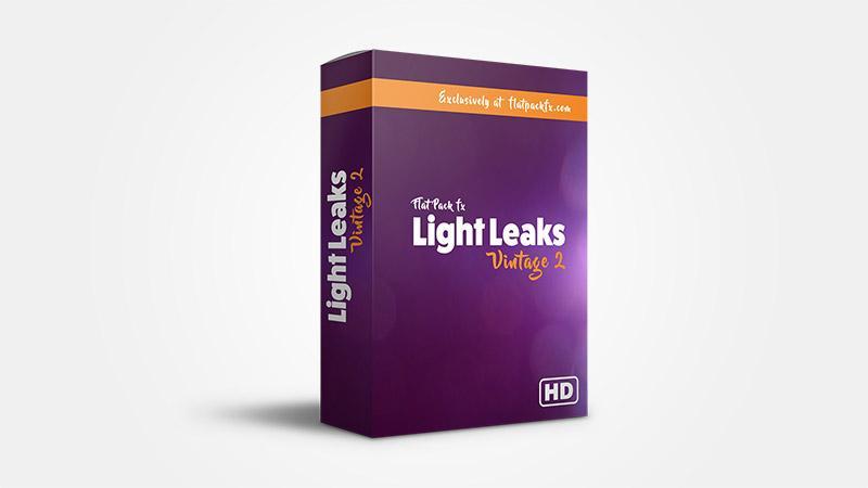 FlatPackFx – Light Leaks Vintage Pack