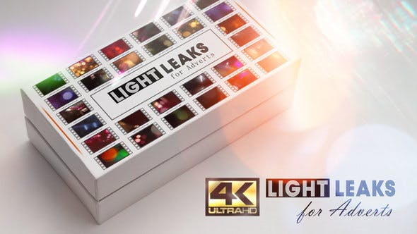 Light Leaks for Adverts! Videohive 22323133
