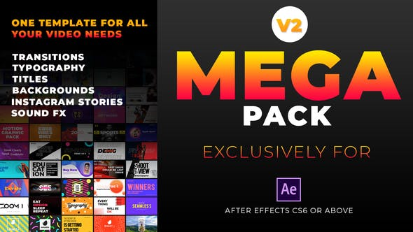 Mega Graphics Pack Videohive 25185878