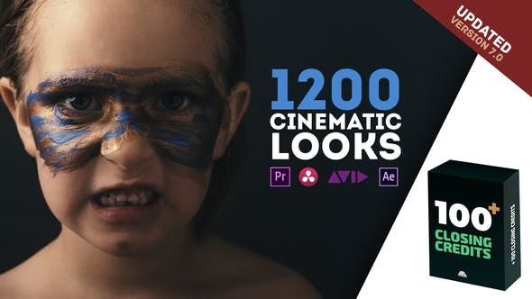 Videohive 23392018 LUTs Color Presets Pack | Cinematic Looks – Premiere Pro V7 ( 9 January 20 Updated)