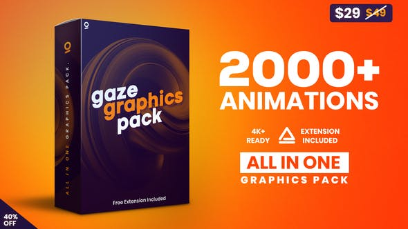 Gaze – Graphics Pack Videohive 25010010