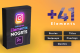 Instagram Elements Pack-MOGRT Videohive 25331110