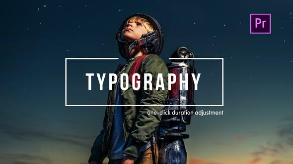 TypoFlow For Premiere Pro | 318 Typography scenes Videohive 25316644