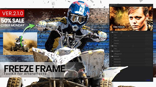 Freeze Frame intro ToolKit Videohive 24469101