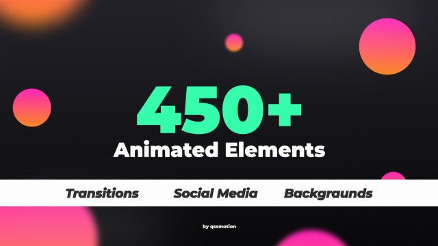450+ Elements Kit Motionarray 280993