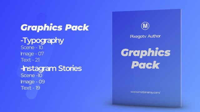 Graphics Pack Motionarray 327768