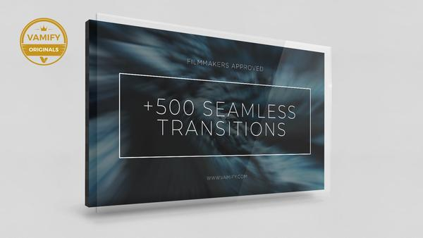 +500 Seamless Video Transitions Vamify
