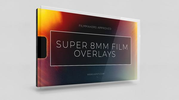 8mm Film Overlays Vamify