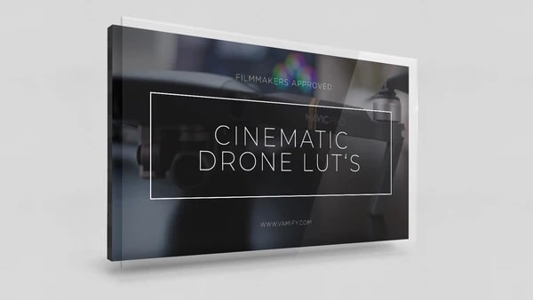Cinematic Drone Luts Vamify