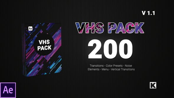 VHS PACK Videohive 24750066
