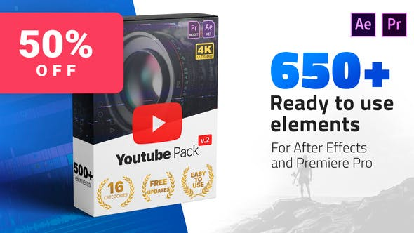 Youtube Pack Videohive 24980642 V2