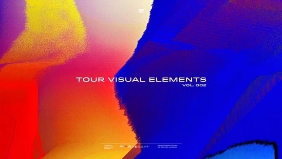 Tour Visuals Elements VOL 2 Pro Ezra Cohen