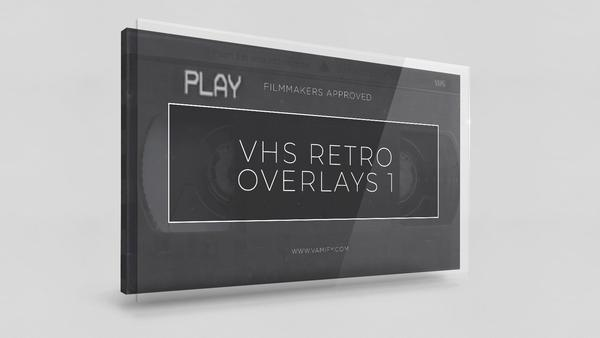 VHS Overlay Pack Vamify