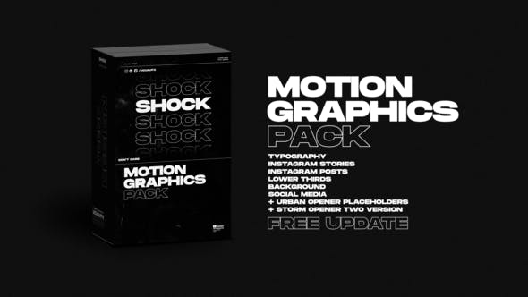 Shock   Motion Graphics Pack Videohive 24181222