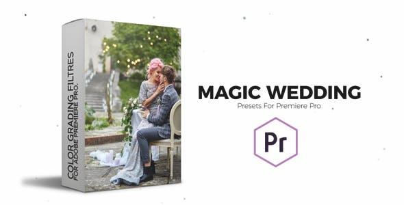 Videohive 23449210 Magic Wedding | Color Correction Presets for Premiere Pro
