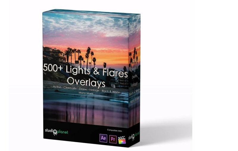 700+ Lights & Flares Overlays StudioPlanet