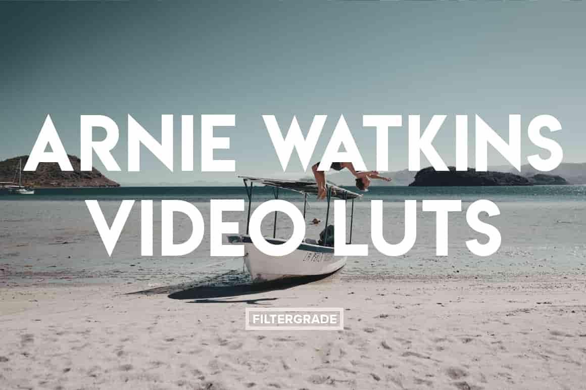 FilterGrade Arnie Watkins Video LUTs