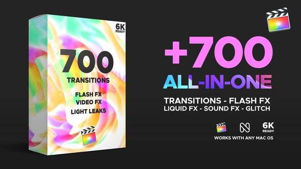 Videohive 25023232 FCPX Transitions