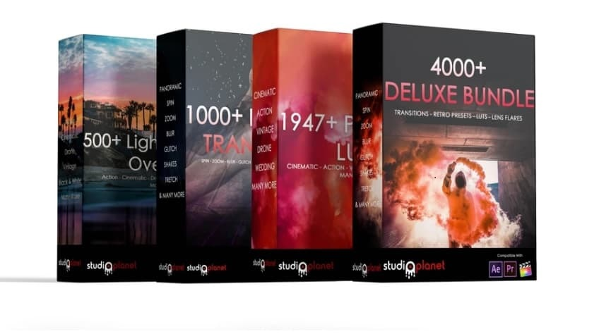4000+ Deluxe Bundle Collection Studiosplanet