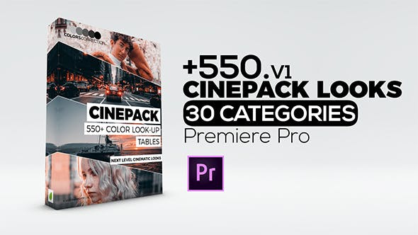 Videohive 23449210 Cinepack | Color Correction Presets for Premiere Pro