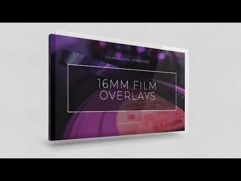 Vamify – 16 mm Film Overlays