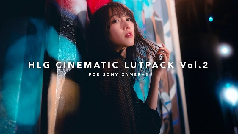 HLG CINEMATIC LUT PACK Vol.2 for SONY AUXOUT