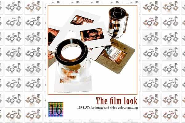 Creativemarket The film look LUTs Adobe(1998)