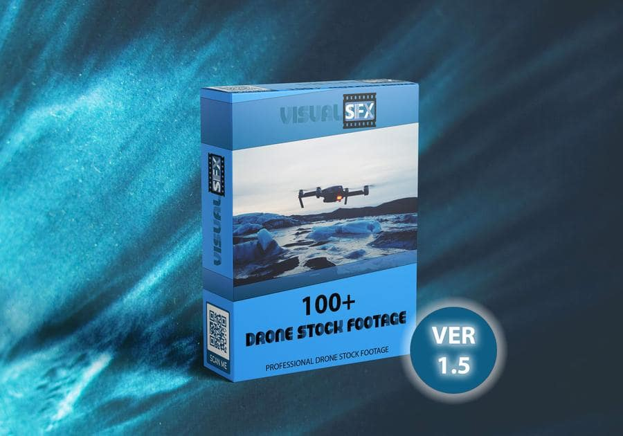 Visualsfx Drone Stock Footage