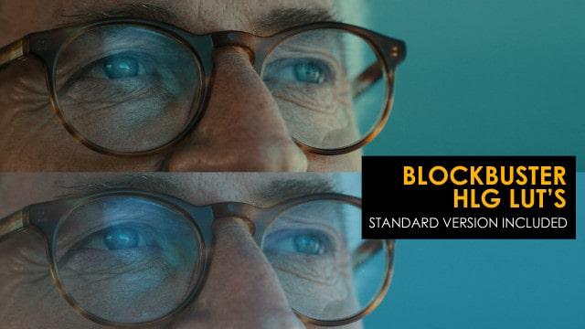 Blockbuster HLG And Standard Luts