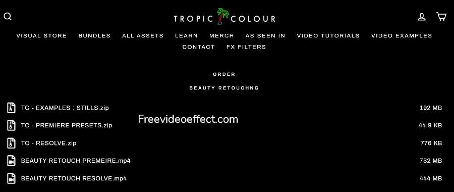 Tropic Colour Beauty Retouching